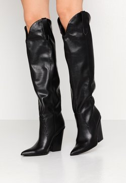 Steve Madden - RANGER - High Heel Stiefel - black