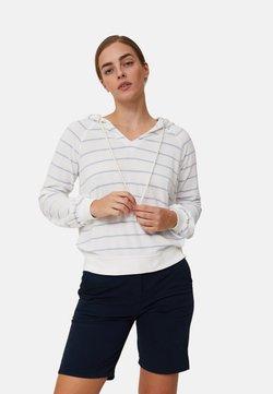 Lexington - MARNIE  - Bluza z kapturem - offwhite/light blue stripe