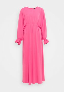 Vero Moda Tall - VMALLY WIDE ANKLE DRESS - Freizeitkleid - hot pink