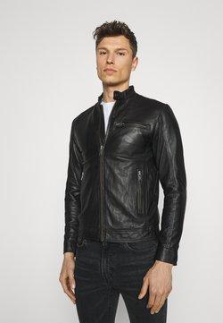 Selected Homme - SLHICONIC CLASSIC - Leren jas - black