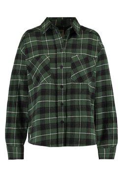 America Today - BOBBY CHECK - Overhemdblouse - black/green