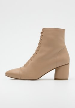 Zign - Lace-up ankle boots - sand