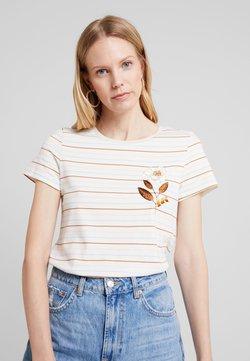 Esprit - EMBRO - T-Shirt print - off white