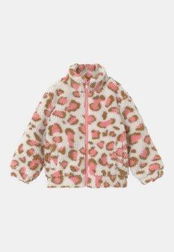 Cotton On - ZIP THROUGH - Winterjas - dark vanilla/pink