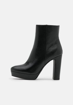 Minelli - High heeled ankle boots - noir
