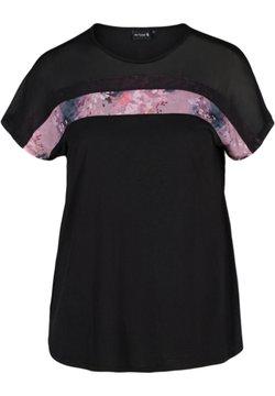 Active by Zizzi - PRINTDETAILS - T-Shirt print - black