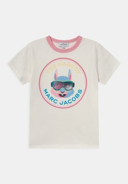 The Marc Jacobs - SHORT SLEEVES TEE UNISEX - T-shirt med print - offwhite