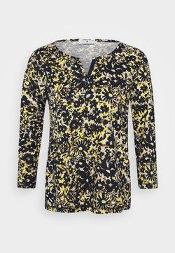 TOM TAILOR - Bluzka z długim rękawem - yellow