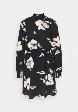 ONLY - ONLWINNER HIGHNECK DRESS - Blusenkleid - black