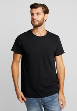 Solid - GAYLIN - T-shirt basic - black