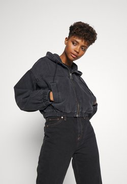 BDG Urban Outfitters - PATCH POCKET JACKET - Jeansjacke - wash black