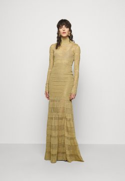 Hervé Léger - GOWN - Vestido de fiesta - gold-coloured