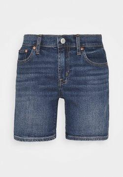 GAP Petite - SPENCER ROLL - Shorts vaqueros - medium destroy