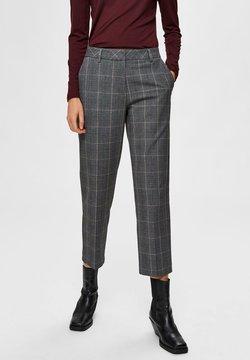 Selected Femme - Pantaloni - medium grey melange