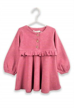 Cigit - RUFFLED THESSALONIKI DRESS 1 TO 7 YEARS - Korte jurk - rose