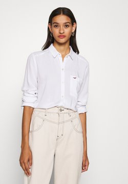 Hollister Co. - Camisa - white texture