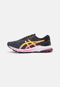 ASICS - GT-1000 10 - Zapatillas de running estables - black/hot pink