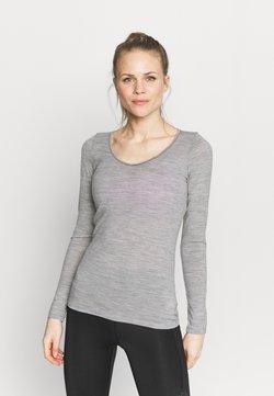 Icebreaker - SIREN SWEETHEART - Camiseta interior - mottled grey