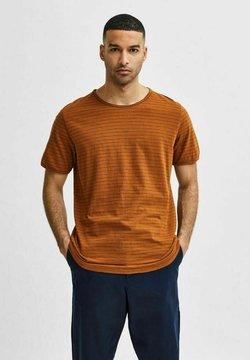 Selected Homme - SLHMORGAN - T-Shirt print - monks robe