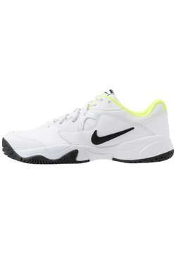 Nike Performance - COURT LITE 2 - Multicourt Tennisschuh - white/black/volt