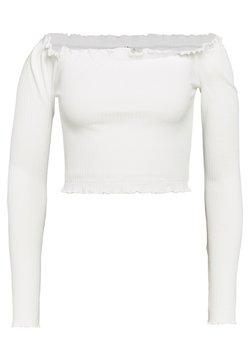 Nly by Nelly - CROPPED - Bluse - white