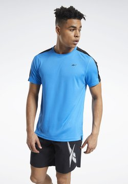 Reebok - WORKOUT READY TECH TEE - T-Shirt basic - blue