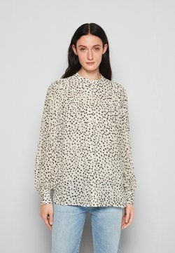 The Kooples - 2-in-1 SHIRT - Bluse - white/navy