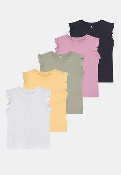 Name it - NBFSEDONNA 5 PACK - T-shirt print - sunlight