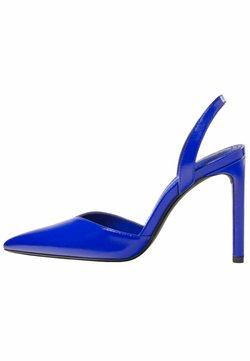 Bershka - Decolleté - metallic blue
