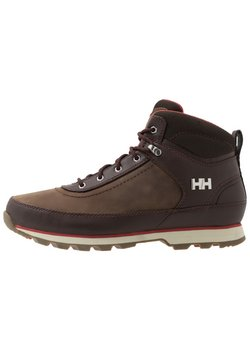 Helly Hansen - CALGARY - Outdoorschoenen - coffe bean/natura/red