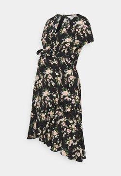 Ripe - ELORA TIE FRONT DRESS - Freizeitkleid - black