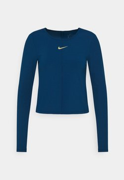Nike Performance - T-shirt sportiva - valerian blue/metallic gold