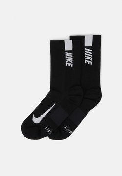 Nike Performance - 2 PACK UNISEX - Calcetines de deporte - black/white
