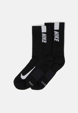 Nike Performance - 2 PACK UNISEX - Sportsocken - black/white