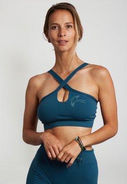 Yogasearcher - KONASANA - Sport BH - blue