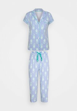 Women Secret - JAIPUR MASCULINE STRIPES - Pyjama - blue