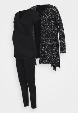 Envie de Fraise - SET - T-shirt imprimé - black/off white