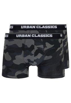 Urban Classics - BOXER 2 PACK - Bokserit - dark camo