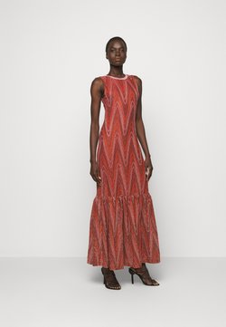 M Missoni - ABITO LUNGO - Cocktail dress / Party dress - red