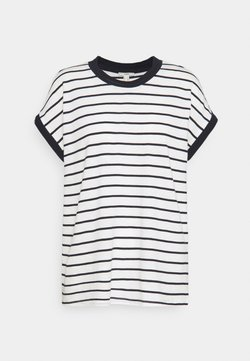 Esprit - TEE POINTEL - T-Shirt basic - off white