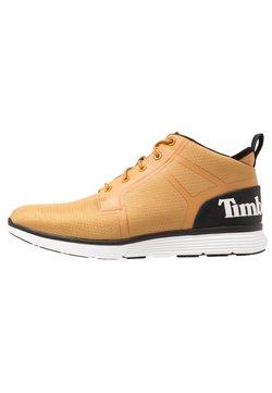 Timberland - KILLINGTON SUPER OX - Höga sneakers - wheat