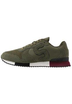 Superdry - RETRO RUNNER - Sneaker low - khaki