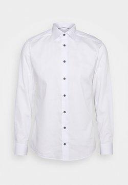 Eton - FINE STRIPES WEAVE SHIRT - Camicia elegante - white
