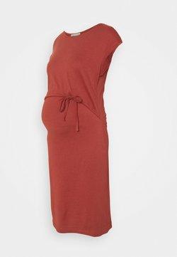 Anna Field MAMA - NURSING Jersey dress - Vestido ligero - red