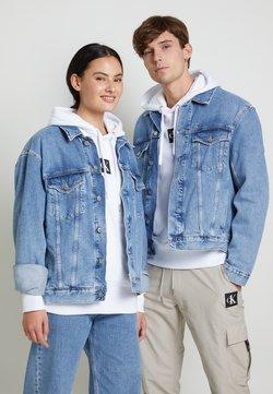 Calvin Klein Jeans - JACKET UNISEX - Jeansjacke - bright blue