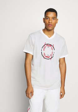 Puma - PARQUET VINTAGE - T-shirt imprimé - vaporous gray