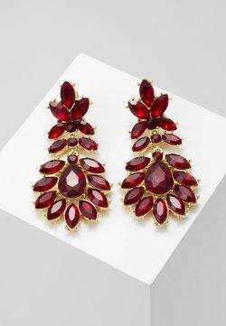 Pieces - PCKARLO EARRINGS - Earrings - burgundy