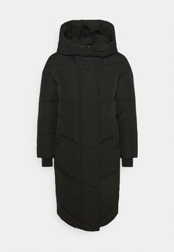 Noisy May Petite - NMTALLY LONG JACKET  - Wintermantel - black