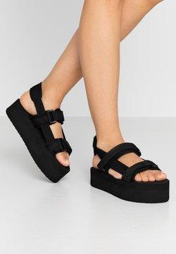 Vero Moda - VMRELA  - Korkeakorkoiset sandaalit - black