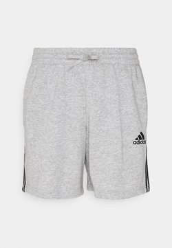 adidas Performance - kurze Sporthose - medium grey heather/black